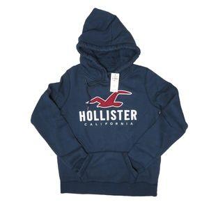 HOLLISTER Logo Graphic Hoodie